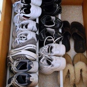 Simple and Cheap DIY Ideas to Organize Shoes That You Must Try 18