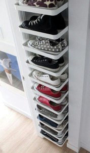 Simple and Cheap DIY Ideas to Organize Shoes That You Must Try 35