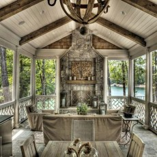 Awesome Outdoor Rooms Designed as Comfortable as Possible for You 53