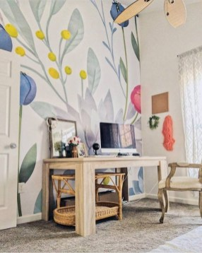 Best Wallpaper Decoration Designs to Enhance Your Family Room 07