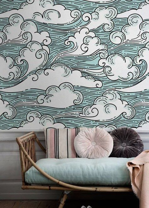 Best Wallpaper Decoration Designs to Enhance Your Family Room 13