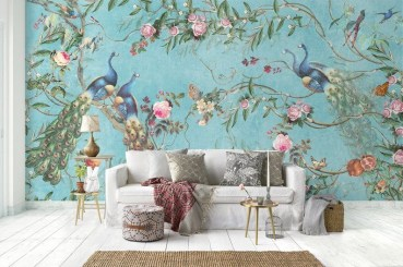 Best Wallpaper Decoration Designs to Enhance Your Family Room 16