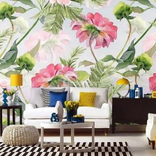 Best Wallpaper Decoration Designs to Enhance Your Family Room 20
