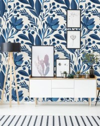 Best Wallpaper Decoration Designs to Enhance Your Family Room 26