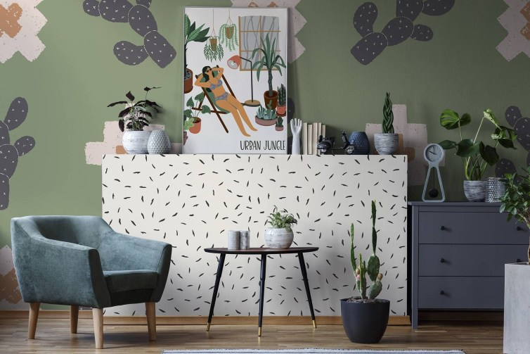 Best Wallpaper Decoration Designs to Enhance Your Family Room 33
