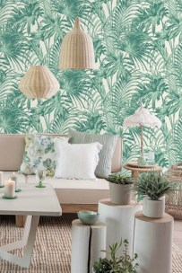 Best Wallpaper Decoration Designs to Enhance Your Family Room 42