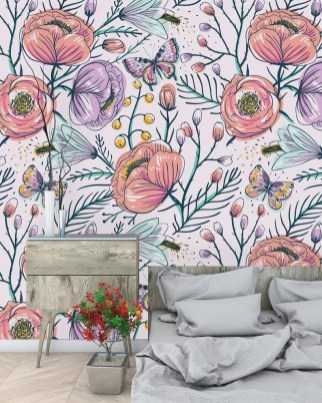 Best Wallpaper Decoration Designs to Enhance Your Family Room 54