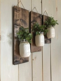 Cool Interior Design DIY Pallet to Beautify Wall Hangings of your Home 43