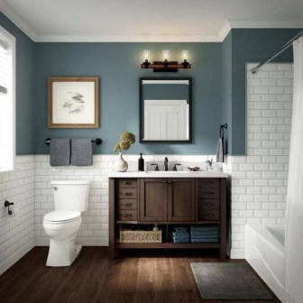 Majestic Bathroom Decoration to Perfect Your Dream Bathroom 14