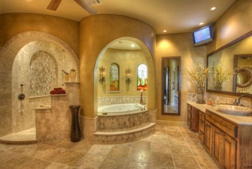 Majestic Bathroom Decoration to Perfect Your Dream Bathroom 50