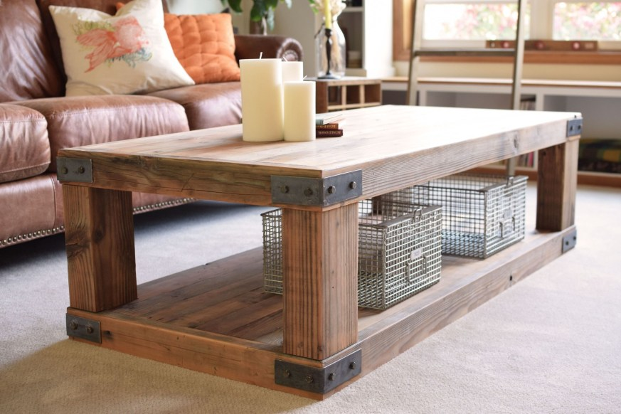Superb DIY Wood Furniture for Your Small House and Cost-efficiency 30