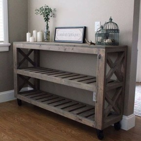Superb DIY Wood Furniture for Your Small House and Cost-efficiency 31