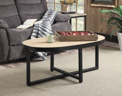 The Charm of Homely Contemporary Living rooms with Oval Coffee Table Decorations 18