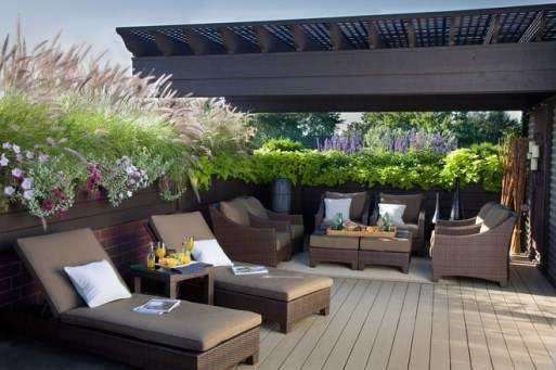 Unique Paver Terrace Design That Will Enhance Your Home Luxury Feel 06