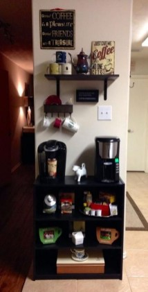 Best Coffee Bar Decorating Ideas for Your That Like a Coffee 06