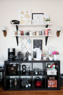 Best Coffee Bar Decorating Ideas for Your That Like a Coffee 14