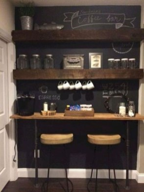 Best Coffee Bar Decorating Ideas for Your That Like a Coffee 24