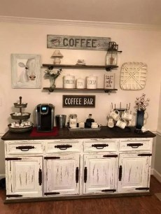 Best Coffee Bar Decorating Ideas for Your That Like a Coffee 32