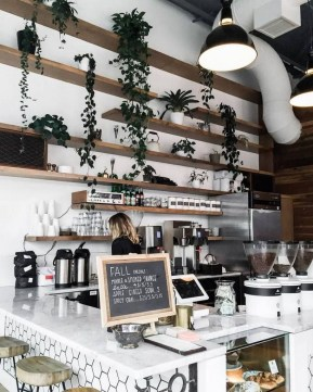 Best Coffee Bar Decorating Ideas for Your That Like a Coffee 36