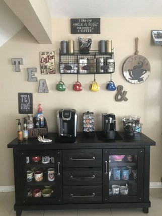 Best Coffee Bar Decorating Ideas for Your That Like a Coffee 57