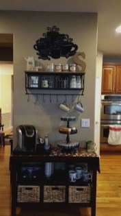 Best Coffee Bar Decorating Ideas for Your That Like a Coffee 59