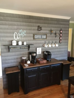 Best Coffee Bar Decorating Ideas for Your That Like a Coffee 63
