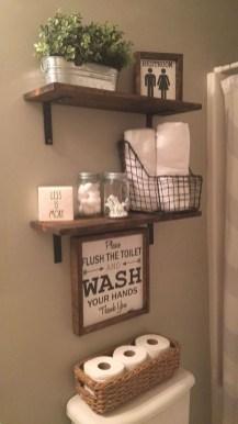 Cozy Fall Bathroom Decorating Ideasl 06