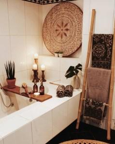 Cozy Fall Bathroom Decorating Ideasl 10