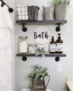 Cozy Fall Bathroom Decorating Ideasl 14