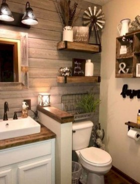 Cozy Fall Bathroom Decorating Ideasl 15