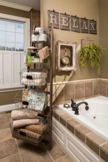 Cozy Fall Bathroom Decorating Ideasl 22