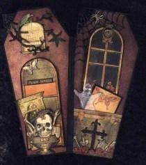 Creepy Halloween Coffin Decorations 05