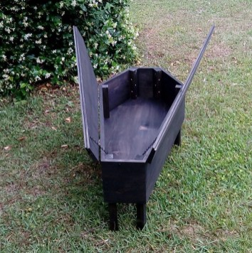 Creepy Halloween Coffin Decorations 09