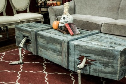 Creepy Halloween Coffin Decorations 10