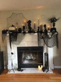 Elegant Halloween Mantel décor You Must Try In Halloween 2019 11