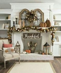 Elegant Halloween Mantel décor You Must Try In Halloween 2019 14