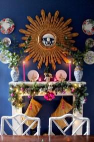 Elegant Halloween Mantel décor You Must Try In Halloween 2019 31