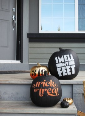 Gorgeous Pumpkin Decorating Ideas 33