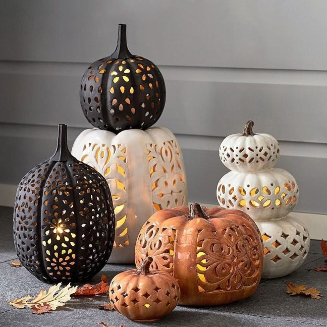 Gorgeous Pumpkin Decorating Ideas 36