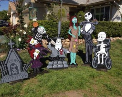 Most Amazing DIY Halloween Decoration Ideas to Make Your Outdoor Decoration More Perfect 23