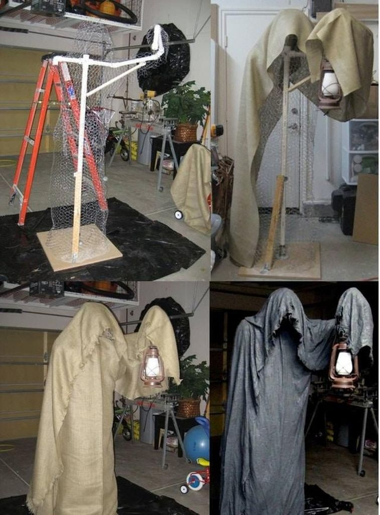 Most Amazing DIY Halloween Decoration Ideas to Make Your Outdoor Decoration More Perfect 42