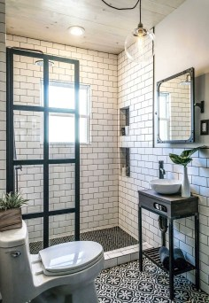 Small And Efficient Bathroom Renovation 20