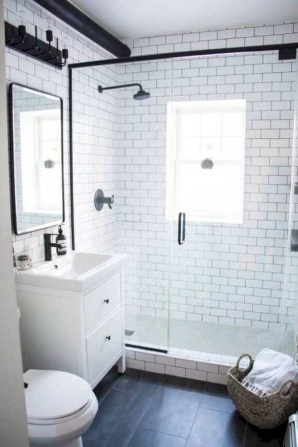 Small And Efficient Bathroom Renovation 37