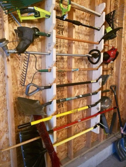 Smart and Comfortable Garage Organization for Your Small Room 08