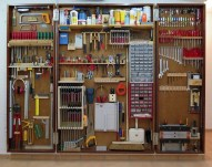 Smart and Comfortable Garage Organization for Your Small Room 09