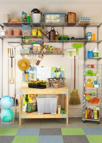 Smart and Comfortable Garage Organization for Your Small Room 22