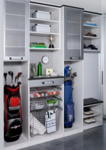 Smart and Comfortable Garage Organization for Your Small Room 35