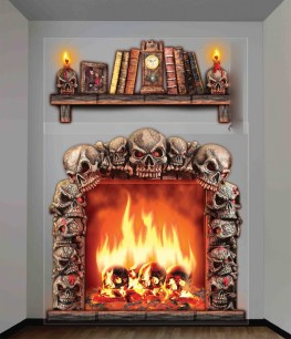 The Best Halloween Fireplace Decoration This Year 01