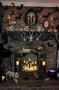 The Best Halloween Fireplace Decoration This Year 05