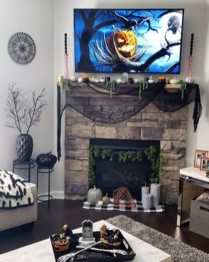 The Best Halloween Fireplace Decoration This Year 06